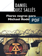 Vazquez Salles, Daniel - Flores Negras Para Michael Roddick [28396] (r1.0)