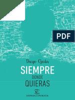 Siempre Donde Quieras Diego Ojeda