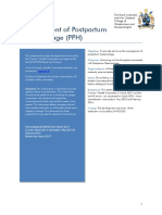 Management of Postpartum Haemorrhage C-Obs 43 Amended February 2016