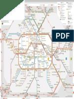 SU-Bahnnetz Mit Regionalbahn ABC