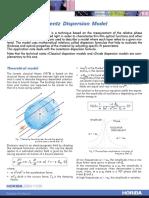Lorentz Dispersion Model