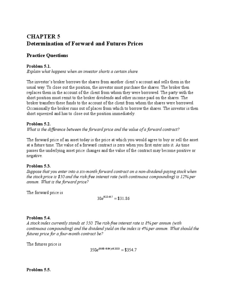 Hull fundamentals of futures and options market 8th edition hull fundamentals of futures and options market 8th edition chapter 5 solutions futures contract hedge finance fandeluxe Images