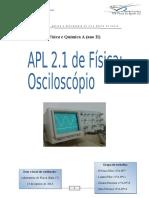 APL 2.1 Osciloscópio