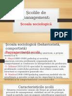 Scoala Sociologica