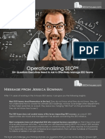 Online Marketing Teams SEO Operations 50 Questions for Executives