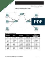 Configuración Básica de La VLAN