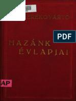 Kerékgyártó Árpád - Hazánk évlapjai