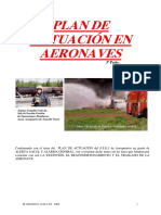 Plan de Actuación en Aeronaves (3ª Parte)