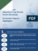 LVACWS Bermuda - Economic Impact Assessment - Feb 25 16