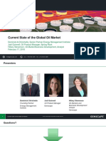 current state of the global oil market webinar slides