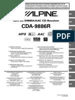Alpine Cda 9886r