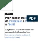 PUG Le Francais Par Les Textes 2 Extrait