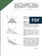 P2 2009-2 Gabarito
