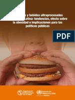 Alimentos Ultra Procesados OPS - OMS