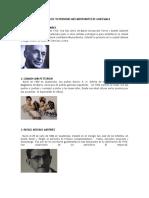Biografía de 20 Personas Más Importantes de Guatemala By Arm T