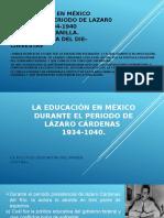 La Educación en México Durante El Periodo De