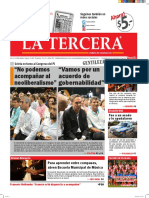 Diario La Tercera 25 02 2016