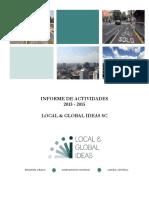 Informe de Labores 2013 - 2015
