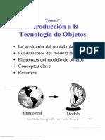 T-2 Capitulo 3. Introducción a La Tecnología de Objetos.