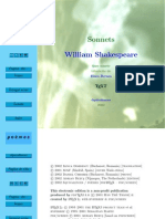 Shakespeare, William - Sase sonete