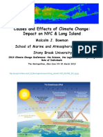 """Causes & Effects of Climate Change"