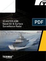 Brochure Security Surveillance Radar Scanter 4100 - Naval Air Surface Surveillance Radar
