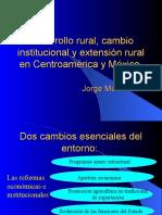 Desarrollo Rural y Extension Rural