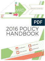 UMSU Forward - 2016 Policy Handbook