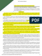 Diario Oficial de la Federación- política de fomento a la gastronomía