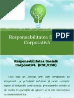 Responsabilitate sociala corporativa