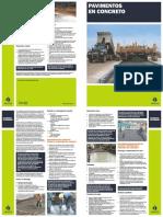 Recomendaciones Generales – Pavimentos de Concreto