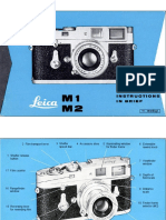 Leica m2 Brief Manual