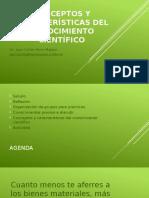 C1 - Conceptos y Características Del Conocimiento Científico