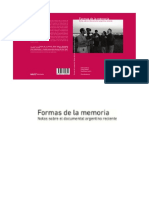 Formas de La Memoria. Notas Sobre El Doc
