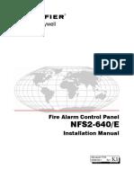 NFS2-640 Instalacion