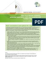 Zika Virus Rapid Risk Assessment 8 February 2016
