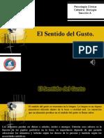 EL SENTIDO DEL GUSTO.ppt