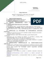 Model Fisa Post Medic Conas