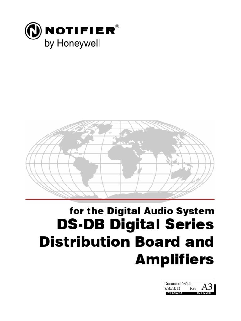 DS-DB Digital Series Distribution Board and Amplifiers