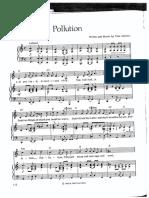 Pollution - Tom Lehrer