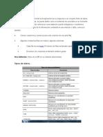 Tipos de Datos en SQL