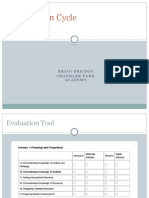 edl 605 evaluation cycle presentation