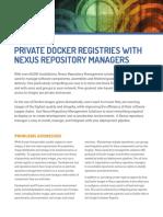 Nexus for Docker-usecase
