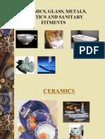 Presentation on Ceramics, Glass and Plastics