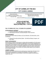 City Council Agenda 03-01-16