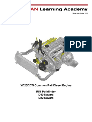 YD25 CR fault diagnosis pdf | Fuel Injection | Diesel Engine