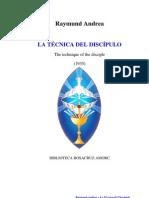 Andrea Raymund - Tecnica Del Discipulo