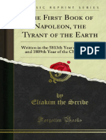 The First Book of Napoleon, The Tyrant of the Earth by Eliakim the Scribe, 1809