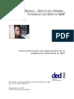 fr DED MGF Module Droits