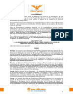 Convocatoria de Asambleas Distritales - Febrero 2016